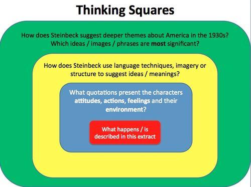 OMAM Thinking Square