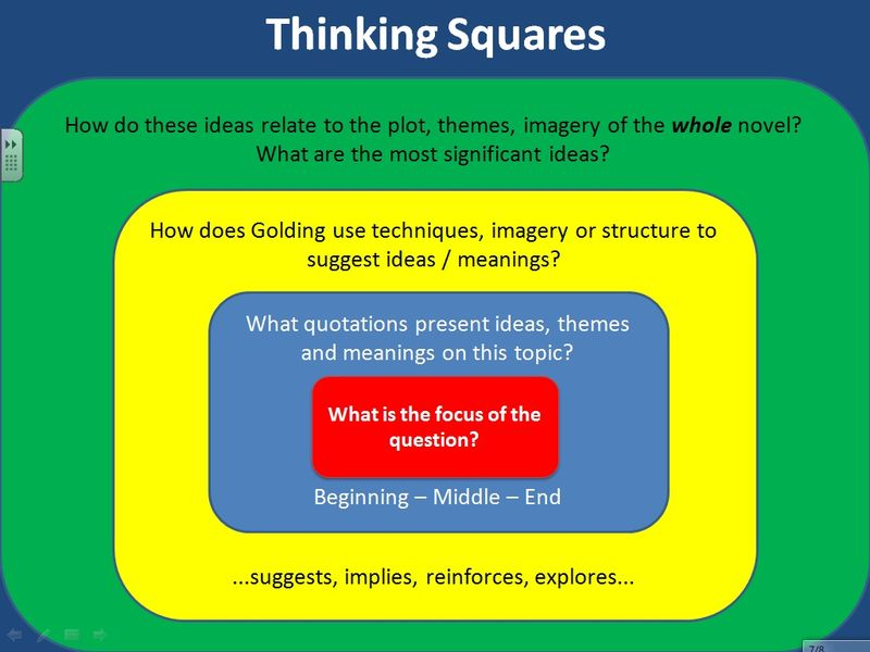mr gray s blog gcse lit thinking squares for lord of the flies gcse lit thinking squares for lord of the flies